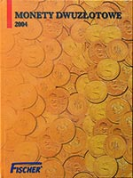Album na monety 2 z� - 2004 - Fischer - monety