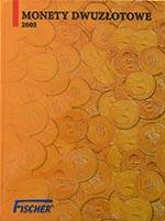 Album na monety 2 z� - 2005 - Fischer - monety