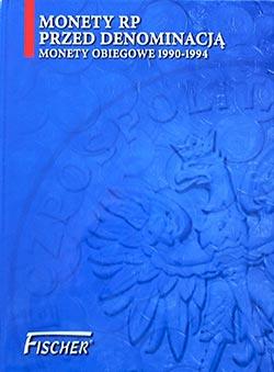 Album na monety obiegowe RP - 1990 - 1994 - Fischer - monety