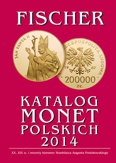 Katalog monet polskich - Fischer 2014