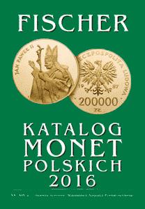 Katalog monet polskich - Fischer 2016 - monety