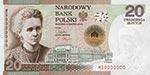 20 z� 2011 - Maria Sk�odowskia-Curie - 100. rocznica przyznania Nagrody Nobla - banknot