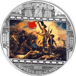 Cook Islands - 2013, 20 dolarów - Eugene Delacroix - Liberty - Ars Vaticana - monety