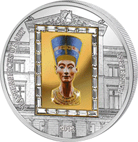 Cook Islands - 2012, 20 dolar�w - Nefretete - Ars Vaticana