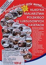 Klasyka malarstwa polskiego, seria 24 monet - Subskrybcja