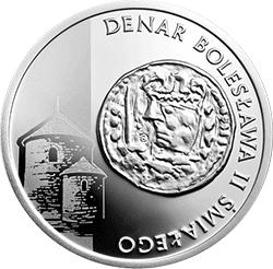 5 z� 2013 Historia Monety Polskiej - Denar Boles�awa �mia�ego - monety