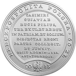 50 zł 2013 Skarby Stanisława Augusta - Władysław Łokietek