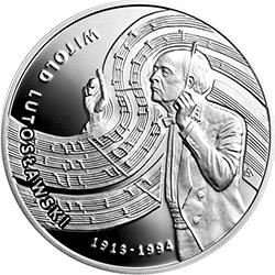 10 z� 2013 Witold Lutos�awski - monety