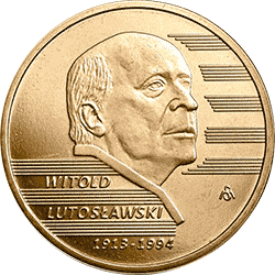 2 zł 2013 Witold Lutosławski