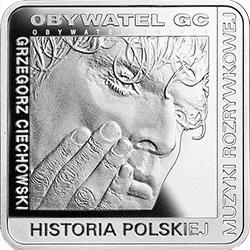 10 z� 2014 Grzegorz Ciechowski - Kwadrat - monety