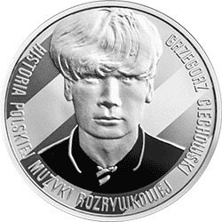10 zł 2014 Grzegorz Ciechowski - Okrągła - monety