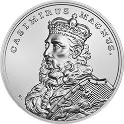 50 z� 2014 Skarby Stanis�awa Augusta - Kazimierz Wielki - monety