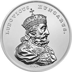 50 z� 2014 Skarby Stanis�awa Augusta - Ludwik W�gierski - monety