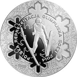10 z� 2014 Polska Reprezentacja Olimpijska Soczi 2014 - monety