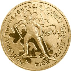2 zł 2014 Polska Reprezentacja Olimpijska Soczi 2014 - monety