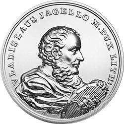 50 z� 2015 Skarby Stanis�awa Augusta - W�adys�aw Jagie��o - monety