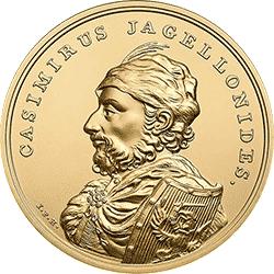 500 zł 2015 Skarby Stanisława Augusta - Kazimierz Jagiellończyk