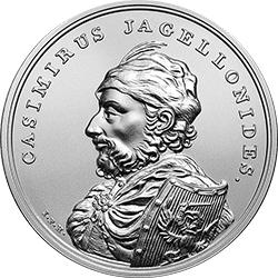 50 z� 2015 Skarby Stanis�awa Augusta - Kazimierz Jagiello�czyk - monety