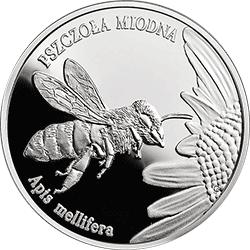 20 z� 2015 Pszczo�a Miodna - Zwierz�ta �wiata - monety