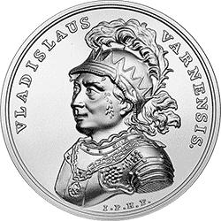 50 z� 2015 Skarby Stanis�awa Augusta - W�adys�aw Warne�czyk - monety