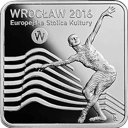 10 z� 2016 Wroc�aw - Europejska Stolica Kultury - monety