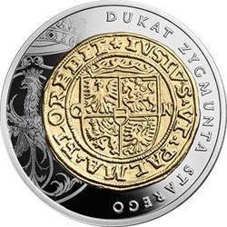 20 z� 2016 Historia Monety Polskiej - Dukat Zygmunta Starego - monety