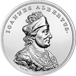 50 zł 2016 Skarby Stanisława Augusta - Jan Olbracht - monety