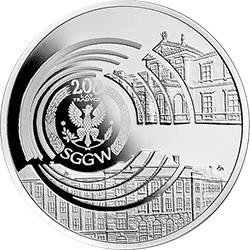 10 zł 2016  200-lecie Szkoły Głównej Gospodarstwa Wiejskiego w Warszawie - monety