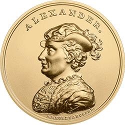 500 zł 2016 Skarby Stanisława Augusta - Aleksander Jagiellończyk