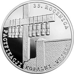 """10 zł 2016 35. rocznica pacyfikacji kopalni """"Wujek"""" - monety"""