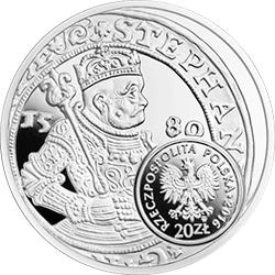 20 zł 2016 Historia Monety Polskiej - Szeląg, Talar Stefana Batorego - monety