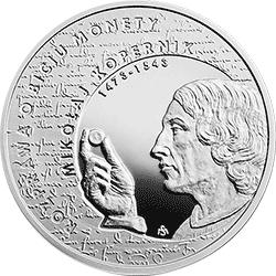 10 zł 2017 Mikołaj Kopernik - Wielcy polscy ekonomiści - monety