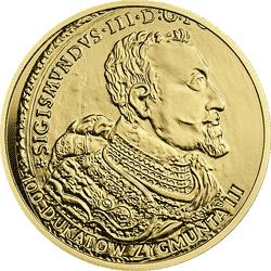 20 zł 2017 Historia Monety Polskiej - 100 dukatów Zygmunta III