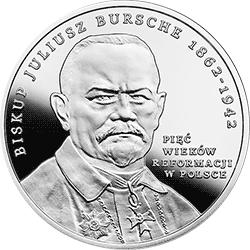 20 zł 2017 Pięć wieków Reformacji w Polsce - monety