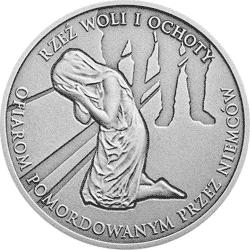 10 zł 2017 Rzeź Woli i Ochoty - monety