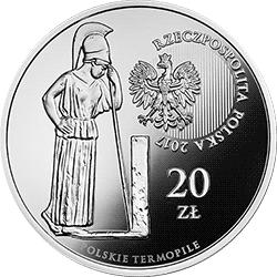 20 zł 2017 Polskie Termopile - Zadwórze