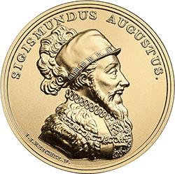 500 zł 2017 Skarby Stanisława Augusta - Zygmunt August - monety