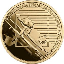 200 zł 2018 Polska Reprezentacja Olimpijska PyeongChang - monety