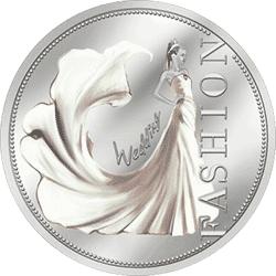 Niue - 2013, 1 dolar - Moda ślubna - monety