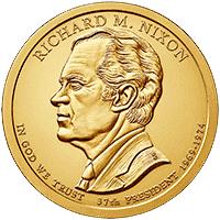 1 dolar 2016 - Richard M. Nixon (P)