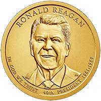 1 dolar 2016 - Ronald Reagan (P)
