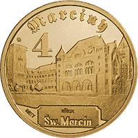 4 Marciny 2012 - Poznań - monety