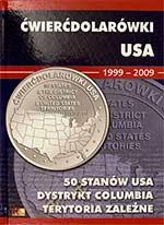 Album na ćwierćdolarówki (25 centów) USA 1999-2009 - monety
