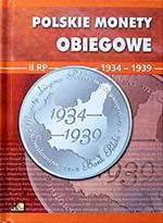 Album na monety obiegowe II RP - 1934-1939