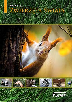 Album na monety z serii Zwierzęta Świata - Fischer