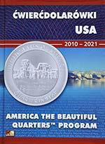 Album na ćwierćdolarówki (25 centów) USA 2010-2021 - Parki