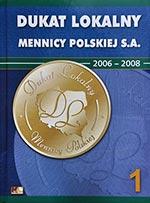 Album na monety Dukat Lokalny Mennicy Polskiej (tom 1)