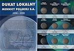 Album na monety Dukat Lokalny Mennicy Polskiej (tom 2)