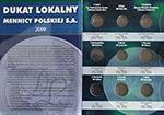 Album na monety Dukat Lokalny Mennicy Polskiej (tom 5)