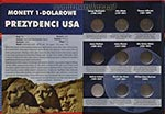 Album na monety 1-dolarowe - Prezydenci USA